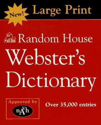 Random House Webster's Dictionary 9780679777106