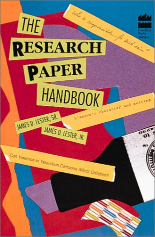 Research Paper Handbook 9780673360168
