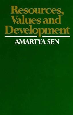Resources, Values, and Development 9780674765252