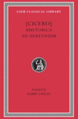 Rhetorica Ad Herennium 9780674994447