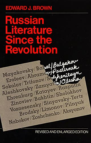 Russian Literature Since the Revolution: Revised and Enlarged Edition 9780674782044
