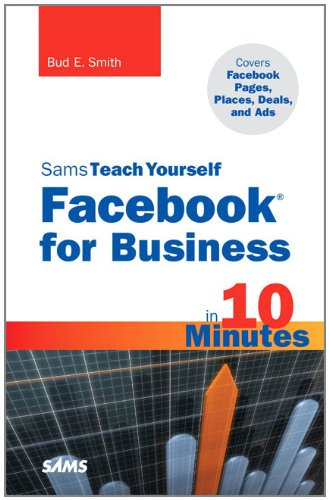 Sams Teach Yourself Facebook for Business in 10 Minutes: Covers Facebook Places, Facebook Deals and Facebook Ads 9780672335556