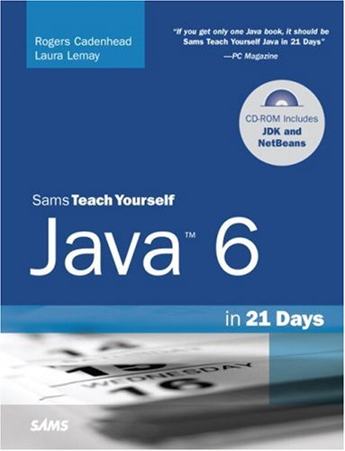 Sams Teach Yourself Java 6 in 21 Days [With CDROM] 9780672329432