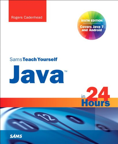 Sams Teach Yourself Java in 24 Hours 9780672335754