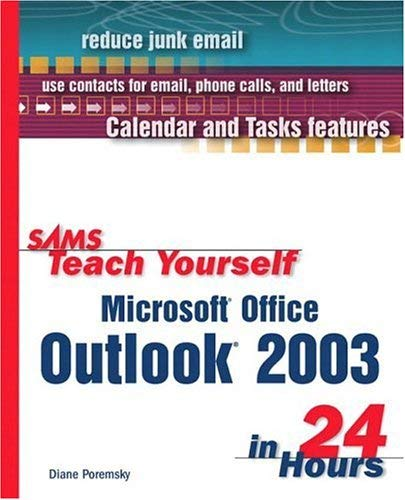 Sams Teach Yourself Microsoft Office Outlook 2003 in 24 Hours 9780672325540