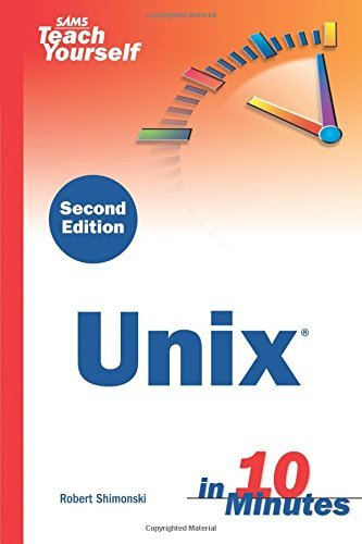 Sams Teach Yourself Unix in 10 Minutes 9780672327643