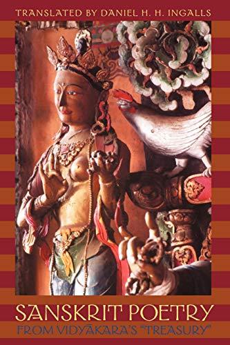 Sanskrit Poetry from Vidyakara's Treasury