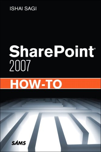 Sharepoint 2007 How-To 9780672330506