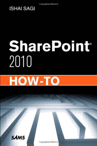 Sharepoint 2010 How-To 9780672333354