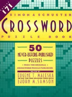 Simon & Schuster Crossword Puzzle Book #171 9780671797874