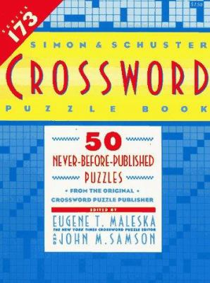 Simon & Schuster Crossword Puzzle Book #173 9780671864088