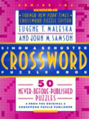 Simon & Schuster Crossword Puzzle Book #183 9780671510565