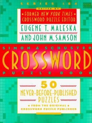 Simon & Schuster Crossword Puzzle Book #184 9780671511319