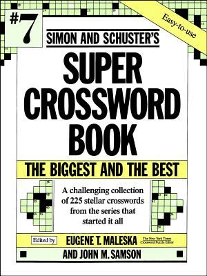 Simon and Schuster's Super Crossword Book 9780671792329