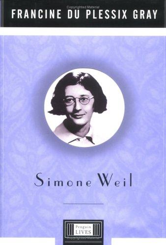 Simone Weil 9780670899982