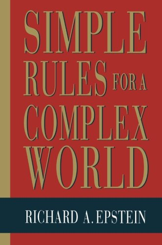 Simple Rules for a Complex World 9780674808218