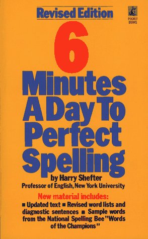Six Minutes a Day to Perfect Spelling 9780671688967