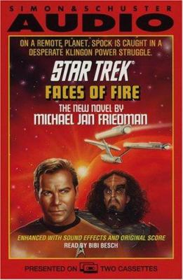 Star Trek Faces of Fire 9780671778026