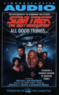 Star Trek Next Generation All Good Things 9780671894825