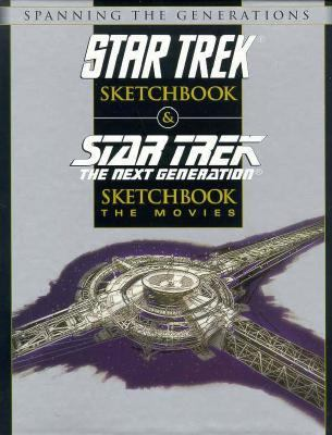 Star Trek Sketchbook: The Original Series 9780671717599