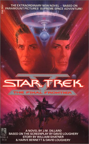 Star Trek V: The Final Frontier 9780671680084
