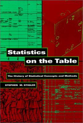 Statistics on the Table: The History of Statistical Concepts and Methods 9780674836013