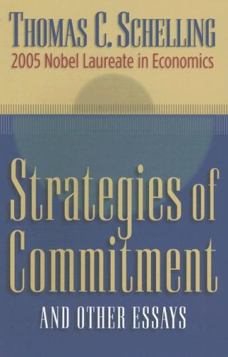 Strategies of Commitment and Other Essays 9780674025677