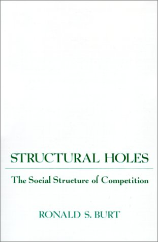 Structural Holes: The Social Structure of Competition 9780674843714