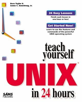 Teach Yourself UNIX in 24 Hours 9780672311079