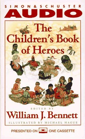 The Children's Book of Heroes Cassette 9780671576295