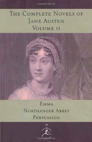 The Complete Novels of Jane Austen, Volume 2: Emma, Northanger Abbey, Persuasion 9780679600251