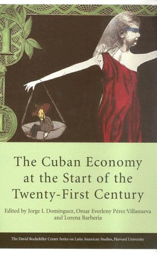 The Cuban Economy at the Start of the Twenty-First Century 9780674017986