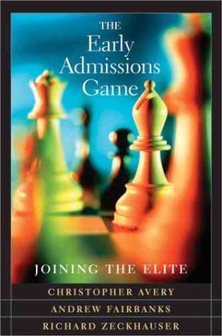 The Early Admissions Game: Joining the Elite 9780674010550