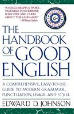 The Handbook of Good English 9780671707972
