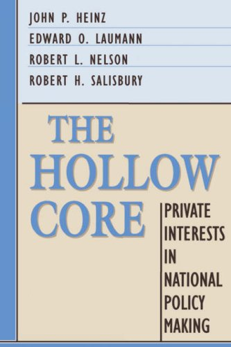 The Hollow Core: Private Interests in National Policy Making 9780674405264