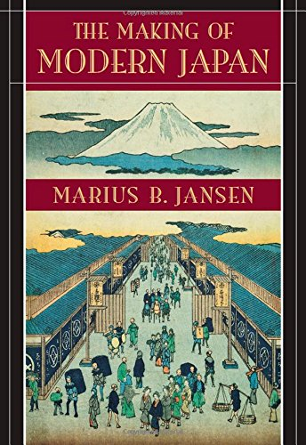 The Making of Modern Japan 9780674009912