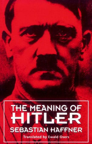 The Meaning of Hitler 9780674557758