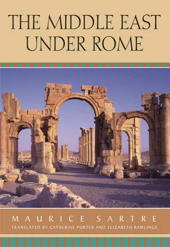 The Middle East Under Rome 9780674016835