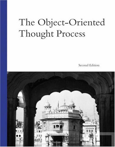 The Object-Oriented Thought Process 9780672326110