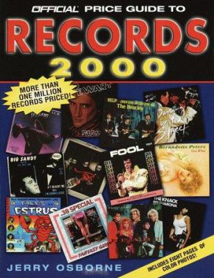 The Official Price Guide to Records, 2000: 14th Edition 9780676601862