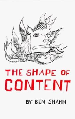 The Shape of Content 9780674805705