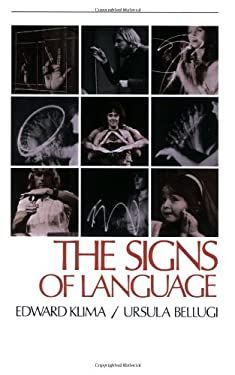 The Signs of Language 9780674807969