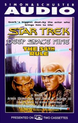 The Star Trek, Deep Space Nine: The 34th Rule 9780671043957