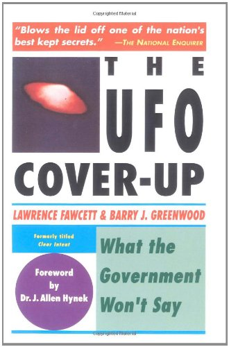 The UFO Coverup: What the Govenment Won't Say 9780671765552