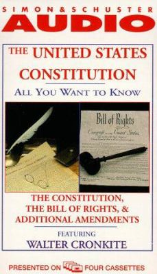 The United States Constitution: The Constitution, the Bill of Rights and Additional Amendments 9780671580797