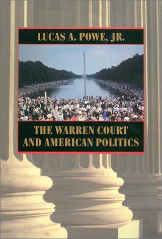 The Warren Court and American Politics 9780674006836