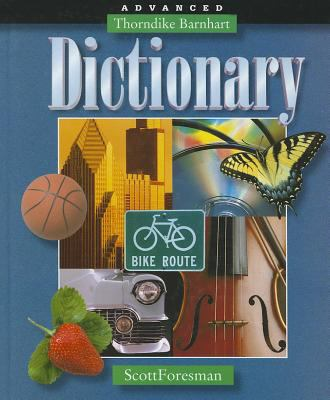 Thorndike Barhart Advanced Dictionary Hardcover 9780673124487