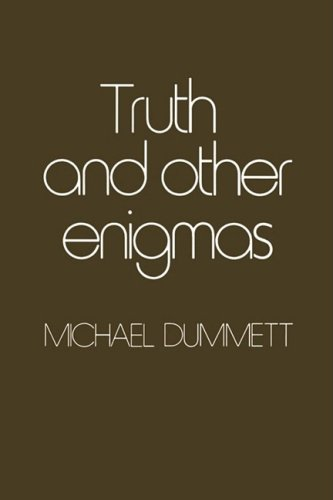 dummett essays Immediately download the michael dummett summary, chapter-by-chapter analysis, book notes, essays, quotes, character descriptions, lesson plans, and more - everything you need for studying or teaching michael dummett.
