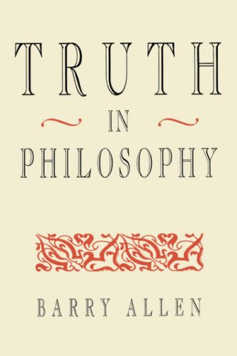 Truth in Philosophy 9780674910911