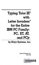 Typing Tutor III With Letter Invaders for the Entire IBM PC Family: Pc, Xt, At, and Pcjr/ (9780671309060) photo
